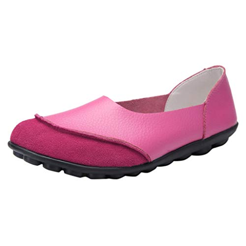 Plus Size Women's Large Size Solid Pure Color Soft Bottom Comfortable Slip-Ons Casual Shoes Retro Nurse Shoes