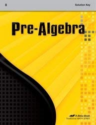 Pre-Algebra Solution Key for sale  Delivered anywhere in USA