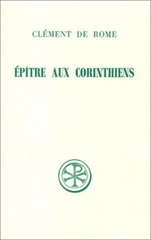Download Epître aux Corinthiens (Sources chrétiennes) (French Edition) pdf