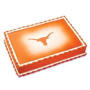 NCAA University of Texas ~ Edible Cake Image (Ncaa Tools)