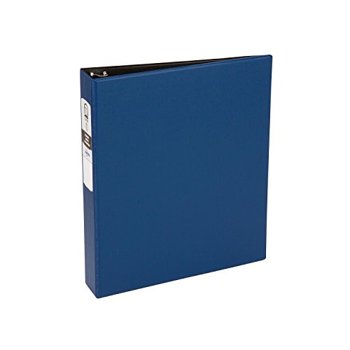 Avery Economy Binder with 1.5-Inch Round Ring, Blue, 1 Binder ()