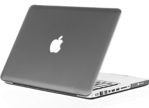 """UPC 723175981485, Kuzy - Rubberized Plastic Case for Older MacBook Pro 15.4"""" (Model: A1286) with DVD Drive Glossy Display Matte Cover - GRAY"""