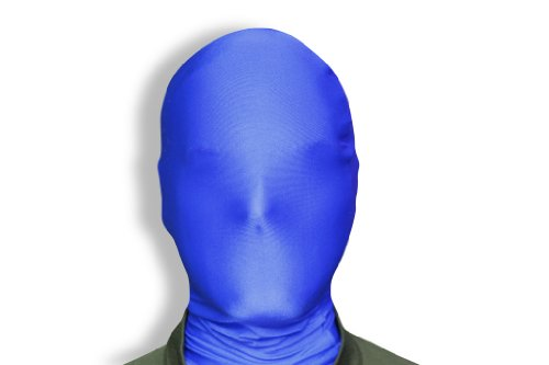 Blue Morphsuit (Morphsuits Morphmask Original, Blue, One Size)