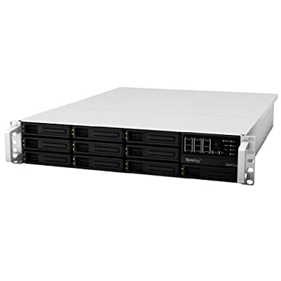 Synology RackStation 10-Bay (Diskless) 2U NAS Rackmount Network Attached Storage (RS3412xs) from Synology America
