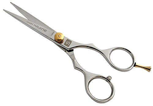 Beard Trimming Scissors, Mustache Scissors 5.5″ (14cm) + Presentation Case