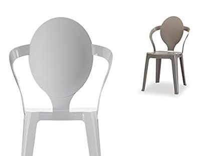 Ideapiu idea sedie in policarbonato sedie in polipropilene sedia