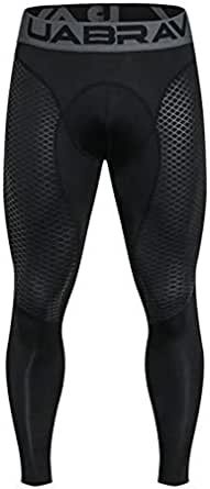 Men and Youth Boy Sports Fitness Compression Running Pants Quick-Drying Breathable Tight Long Leggings
