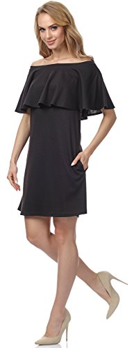 Merry Style Vestido para mujer MSSE0018 Negro