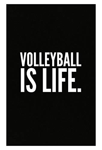Stuch Strength Volleyball Coach Mug - is Life - Court Player Gift - Poster