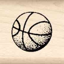 Stamps by Impression LT 42 Basketball Rubber Stamp