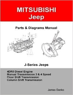 Mitsubishi Jeep 4DR5 Diesel Engine & Manual Transmission Parts