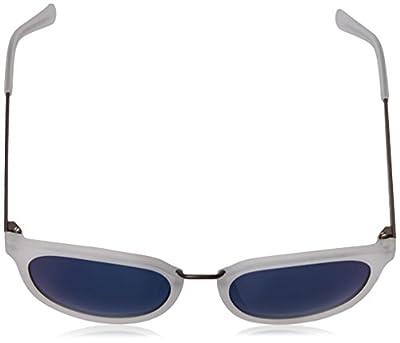 Calvin Klein Unisex-Adult R366s R366S-001 Round Sunglasses