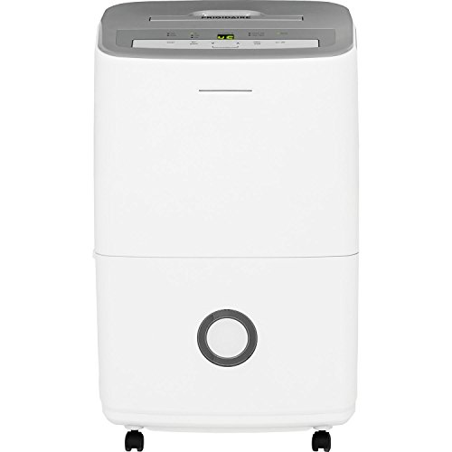 Frigidaire 50-Pint Dehumidifier with Effortless Humidity Control, White