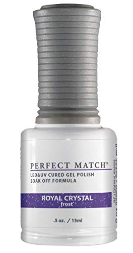 LECHAT Perfect Match Nail Polish, Royal Crystal, 0.500 Ounce by LECHAT