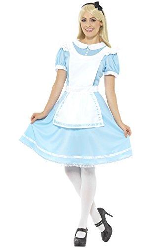 Smiffy's Women's Wonder Princess Costume, Blue, Medium