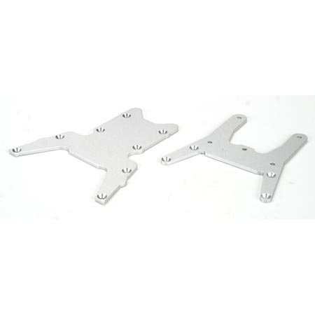 Losi B2253 Chassis Plates Top & Bottom: LST LST2 AFT MGB (Plate Chassis Team Losi)