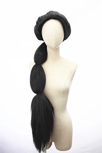 Women's Long Black Costume Wig Cosplay Wigs
