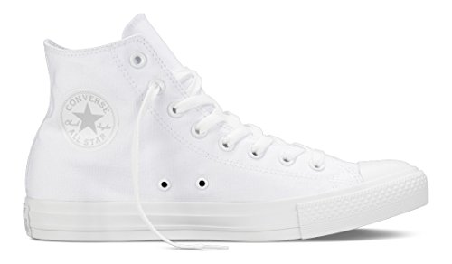 Converse Unisex Shoes Chuck Taylor All Star HI OX (Canvas) White/White Fashion Sneakers (7 Mens /9 Womens) (Shoes White Converse All)