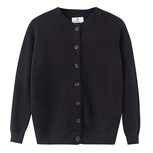 BIMOZI Women Long Sleeve Cardigan Sweaters Button Down Knitwear Black XXXL ()