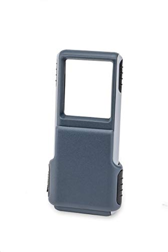 Carson MiniBrite 3x Power LED Lighted Slide Out Magnifier with Protective Sleeve (PO-25) ()