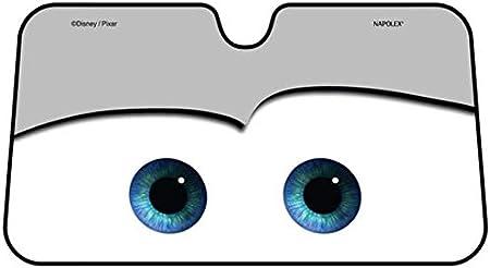 DDD1234 Parasole Parasole Cartoon Big Eyes Pixar Cars Lightning Front Car Parabrezza 4 Colori 130CMx70CM Nero