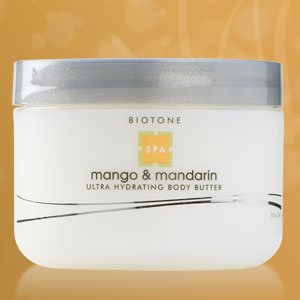 Biotone Ultra Hydratant Beurre corporel, Mango et le mandarin, 8,5 Fluid Ounce