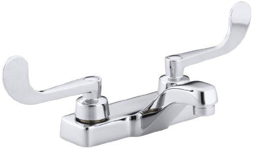 (KOHLER K-7404-5A-CP Triton Centerset Lavatory Faucet, Polished Chrome )