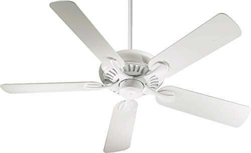 Quorum 91525-6, Pinnacle White Energy Star 52 Ceiling Fan