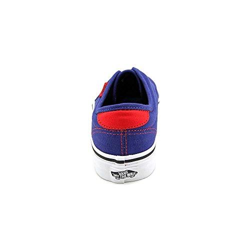 Vans , Chaussures de skateboard pour garçon Blueprint/Red