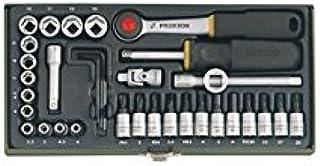 Proxxon GmbH 8014211303050 Proxxon 23080 Lot de 36 clés à douille 1/4' Multicolore