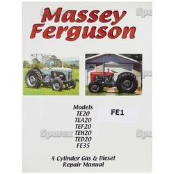 amazon com massey ferguson repair manual te 20 tea20 tef20 fe35 rh amazon com To 20 Ferguson Tractor Parts 1948 Massey Ferguson TE20