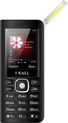 IKALL K42 8000 mAh Powerbank Phone  Black
