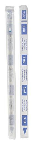Lab Safety 5mL Pipet, Individually Wrap/Bag, PK200 - 11L807