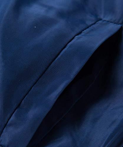 Chaqueta Hombres Bomber Hombres Sudaderas Slim Jacket Estilo Hombres Pilot Fit Coat Bomber De Chaqueta Gruesa De De Los Floral Simple Floral Navyblau Los Casual Capucha Los con Hop Hip qxHW6wpAt