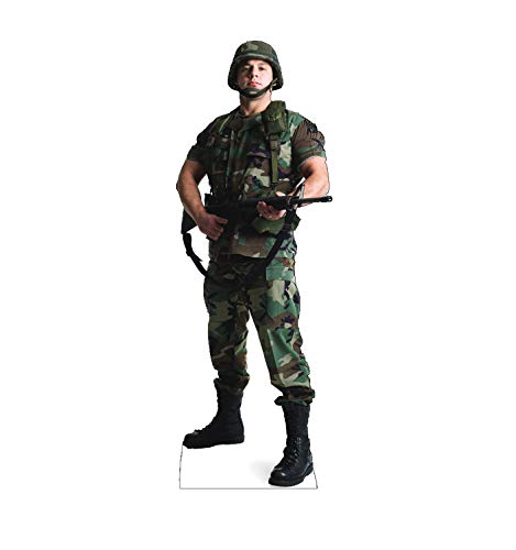 Advanced Graphics Army Soldier Life Size Cardboard Cutout -