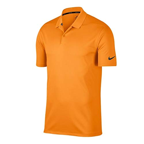Nike Dry Victory Solid Men's Golf Polo (Bright Ceramic, X-Large)