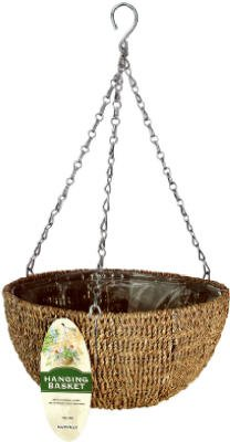 Woven Rope Hanging Basket by Worldwide Sourcing