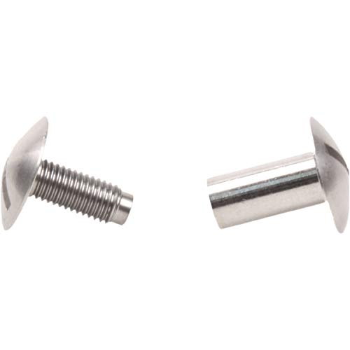 (Zeagle Two Piece Stainless Steel Screw Fastener For Scuba Diving Back-Plates)