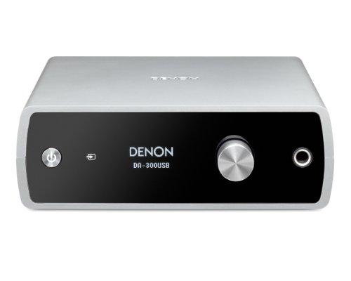 DENON USB-DAC / headphone amplifier Silver DA-300USBS