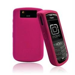 Incipio BlackBerry Tour 9630 dermaSHOT Silicone Case - 1 Pack - Carrying Case - Retail Packaging - Magenta