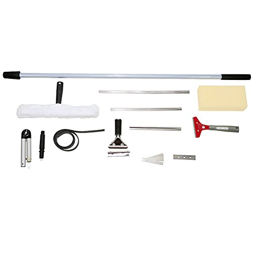 First4Spares Professional Grade Complete Window Cleaning Kit – 8FT