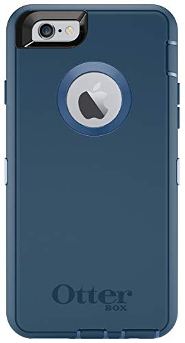 OtterBox Defender Series for iPhone 6s and iPhone 6 (NOT Plus) Case only/No Holster - Non-Retail Packaging - Deep Water Blue/Royal Blue