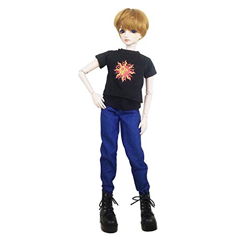 Full Set Photographer Jack 1/3 BJD Doll 22inch Male Boy Doll Ball Jointed Dolls + Makeup + Clothes + Pants + Shoes + Wigs + Doll Accessories