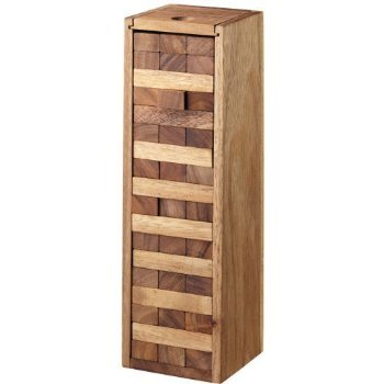 MONKEY POD GAMES Large Tumbling Tower Game with a Wooden Box (13 Inch)