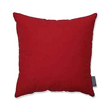 VHC Brands Americana Primitive Pillows Throws – Patriotic Patch Red Quilted 16 x 16 Pillow,
