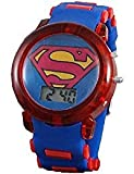 Superman Boy's Light up Blue Digital Watch
