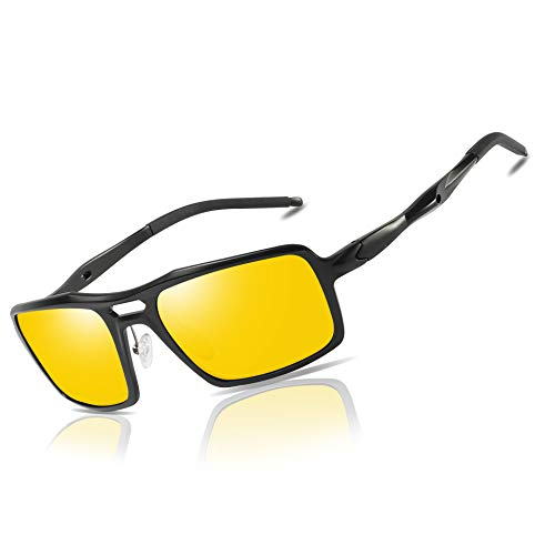 Bircen Night Vision Glasses For Driving Anti Glare Safe Night Driving Glasses