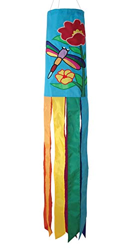 In the Breeze Dragonfly Windsock, 40-Inch (Whirligig Dragonfly)