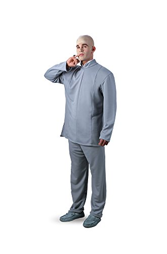 Dr Evil Deluxe Adult Costume 5431 (XXL 50-52) ()