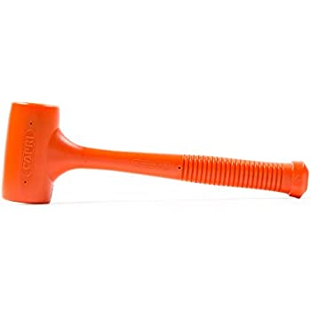 Capri Tools C099 4 lb Deadblow Hammer, Orange PU